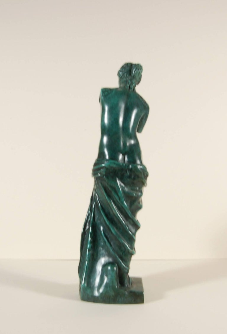 Venus de Milo aux Tiroirs - Gold Nude Sculpture by Salvador Dalí