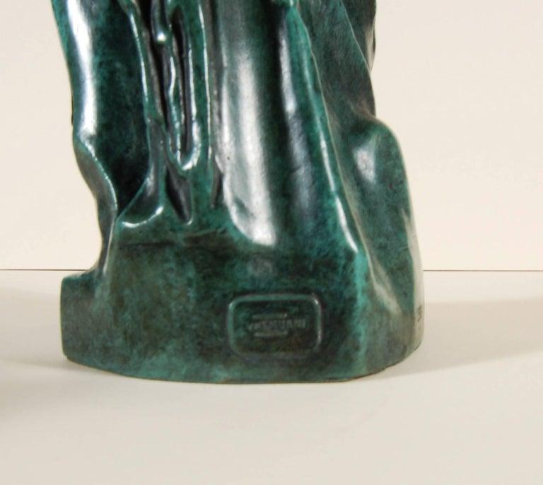 Artist:Salvador Dali (Spanish surrealist, 1904-1989) Title:Venus De Milo Aux Tiroirs Year:1964 Medium:Bronze sculpture with green patina Edition:Stamped 172/499 in the bronze Signature:Signature is impressed in the