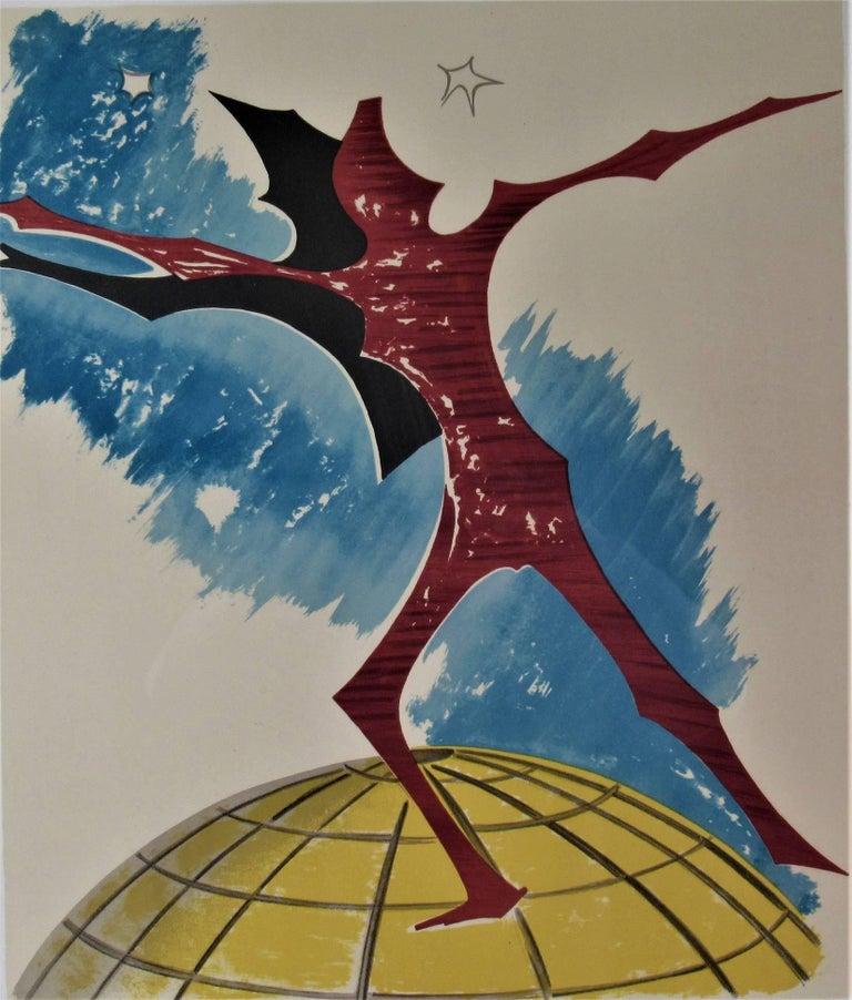In Cima Del Mundo - Print by Man Ray
