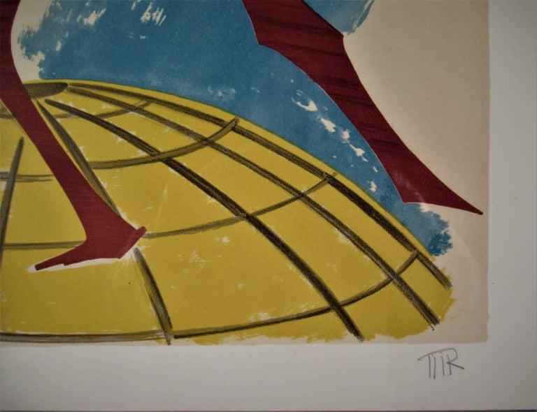In Cima Del Mundo - Dada Print by Man Ray