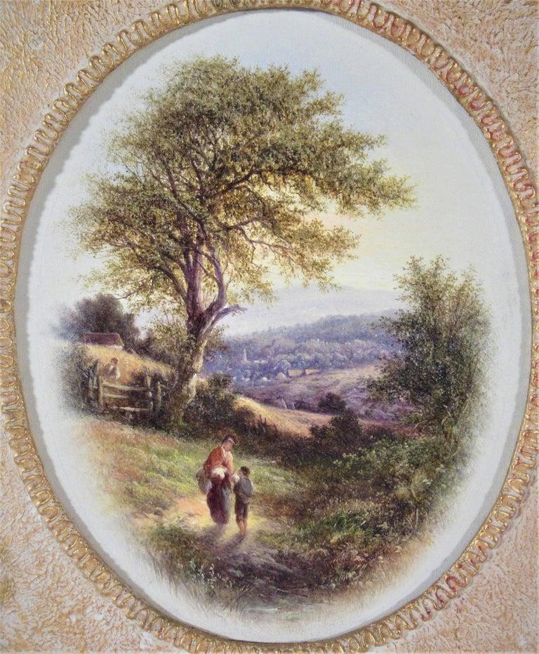 At Twyford, Surrey - Painting by Walter Heath Williams