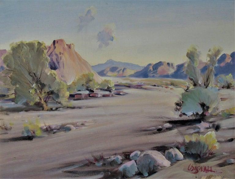 Frederick Richard Chisnall Desert Scene Painting For