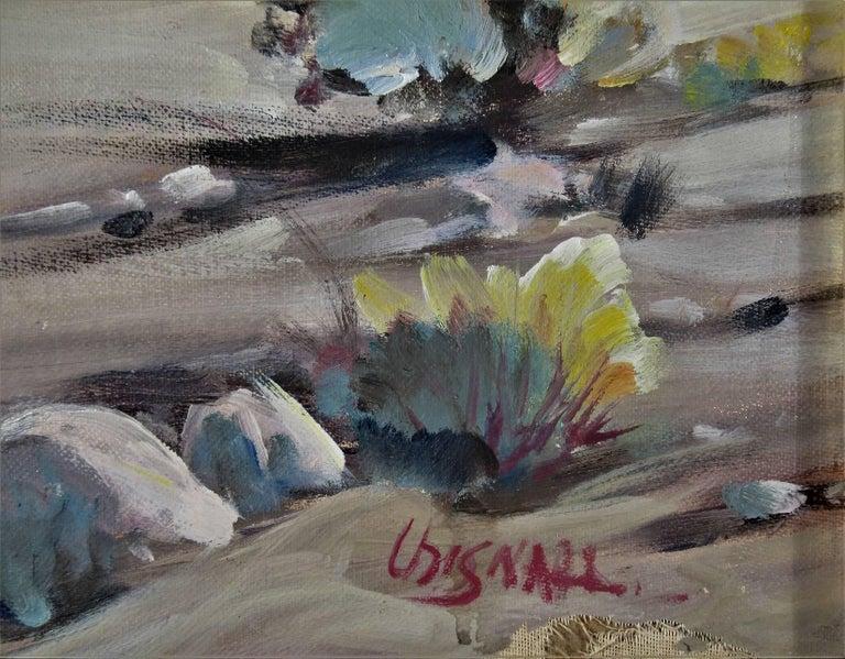 Desert Scene - Impressionist Painting by Frederick Richard Chisnall
