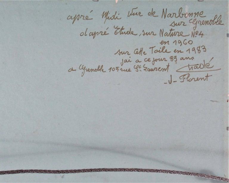 Vue de Narbonne sur Grenoble For Sale 2