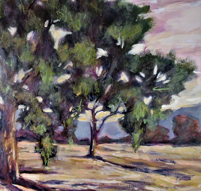 Oak Tress #1 - Art by Sandra Phipps MacDiarmid