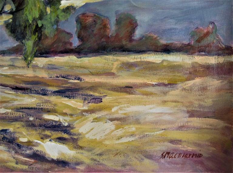 Oak Tress #1 - Abstract Impressionist Art by Sandra Phipps MacDiarmid
