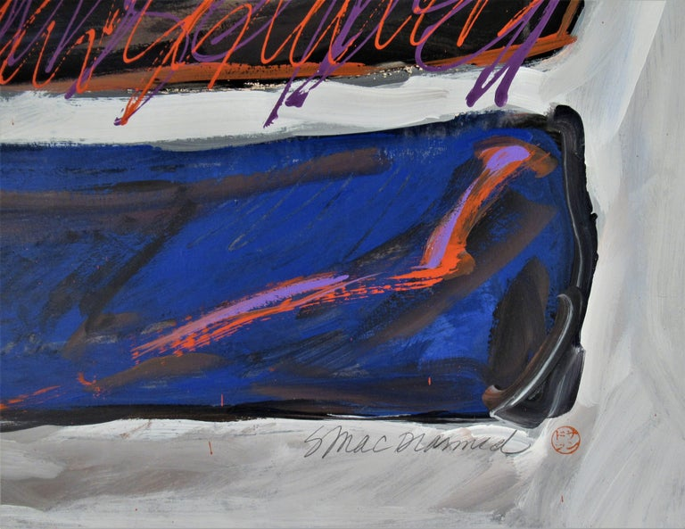 Signature #XIII - Abstract Expressionist Art by Sandra Phipps MacDiarmid