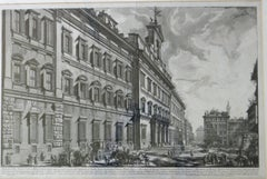 Veduta Della Gran Curia Innocenziana from Vedute di Roma, 1752