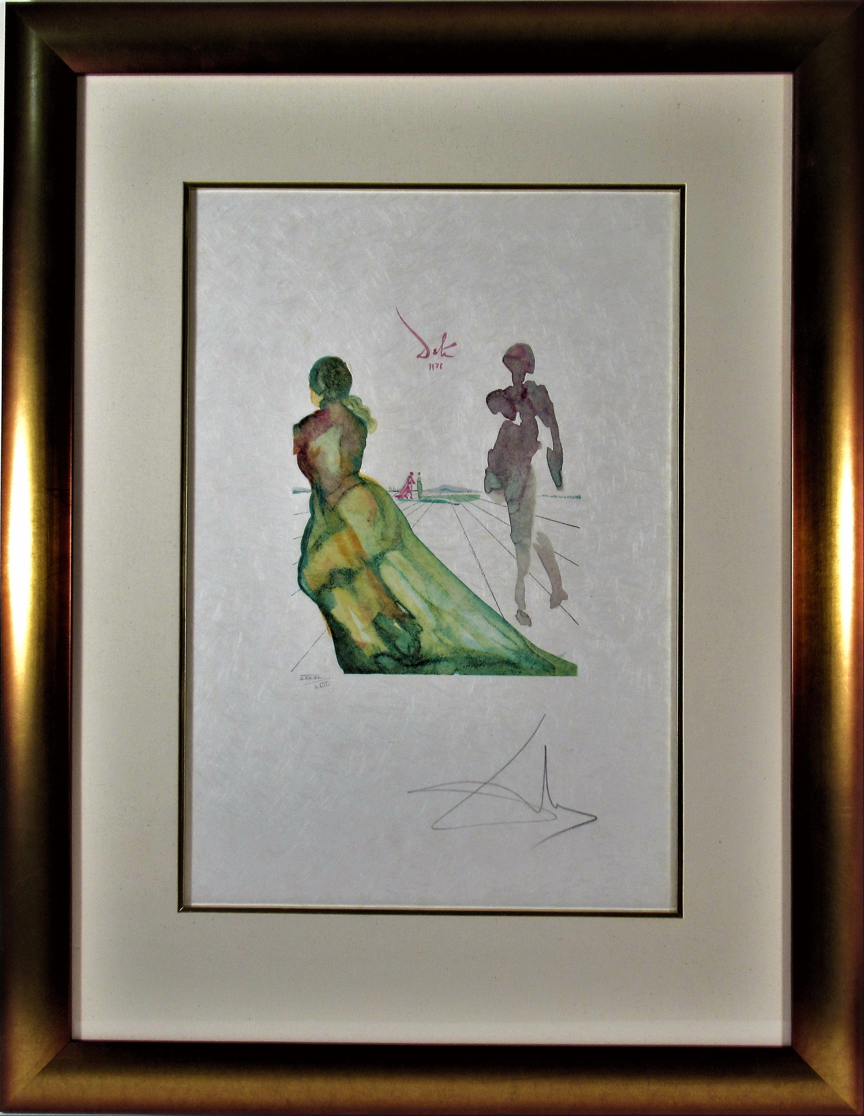 """""""La Deese de Cythere"""" from the suite """"l'Art d'Aimer d'Ovide"""""""