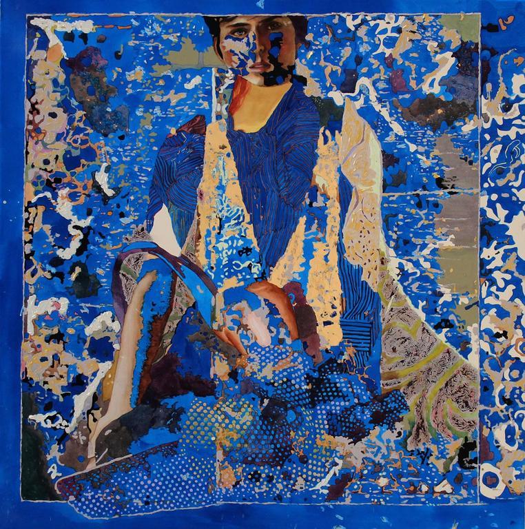 Winnie Sidharta Ambron Portrait Painting - Ether