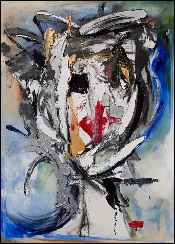 Lea Fisher - Fractured Self-Portrait 1