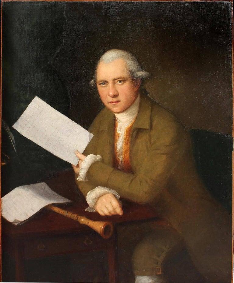 Portrait of the oboist John Parke (1745–1829)