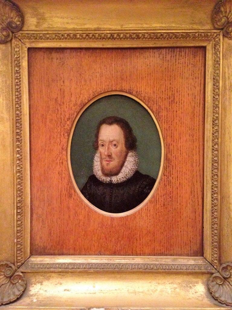 Miniature Portrait of Sir Walter Raleigh (Nicholas Hilliard tradition)