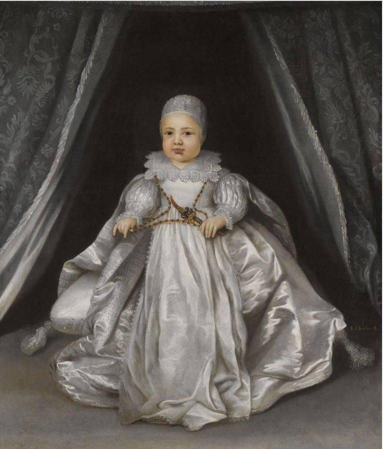 Portrait of Charles II when a Baby