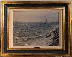Yatch at Sea