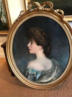 Portrait of Mrs Alex Cowan by Sir Oswald Birley
