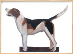 A Favourite Hound by Sir Alfred Munnings