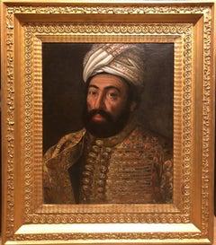 Portrait of a member of Karim Khan Zand's court (circa 1750 - 1760)