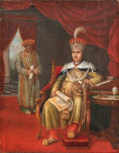 Portrait of Mohammed Ali Shah – King of Oudh
