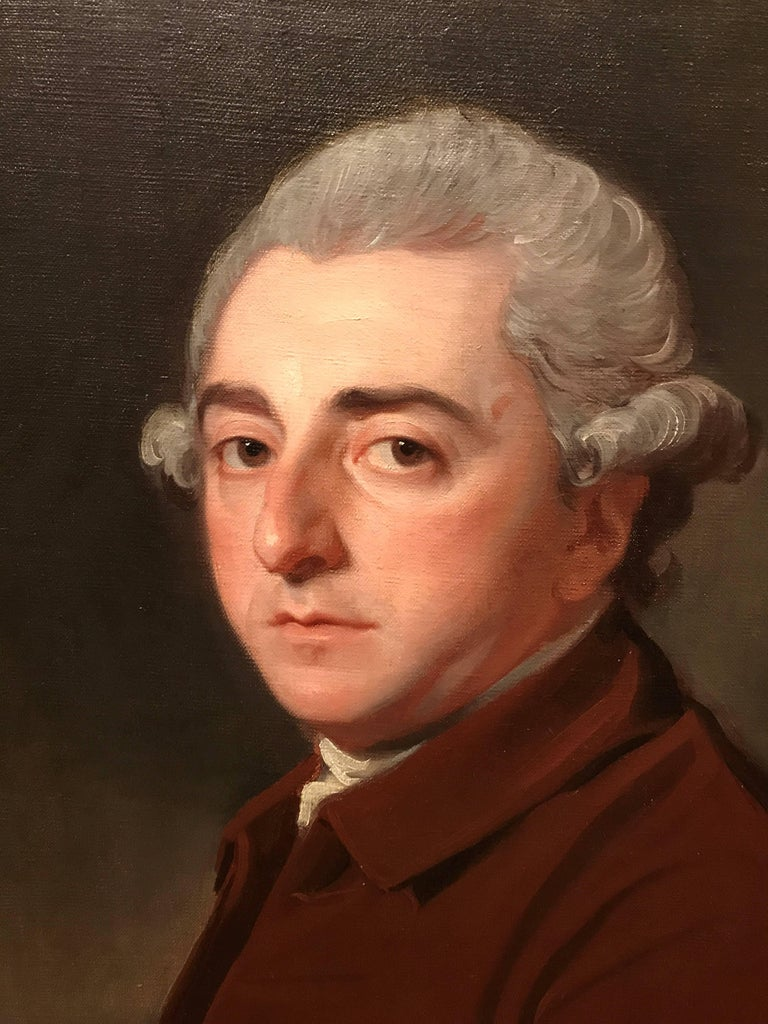 Portrait of Peregrine Bertie (1709-1779)  - Painting by George Romney