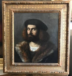 Portrait of a Young Bearded Man
