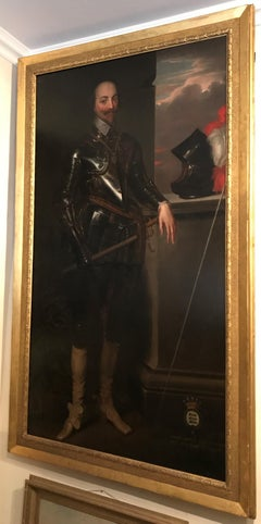 An Enormous and Imposing Portrait of Robert Bertie, 1st Earl of Lindsey