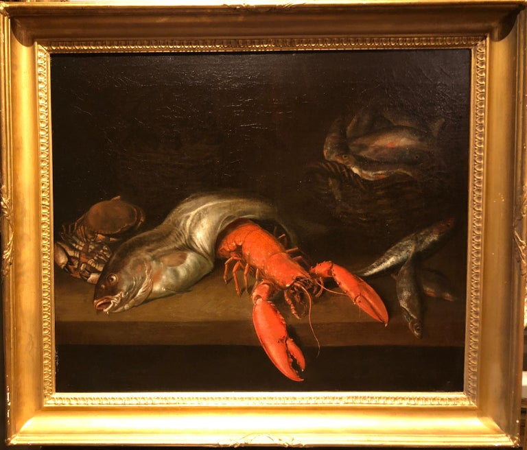 Still Life with Fish, Crabs and Lobster
