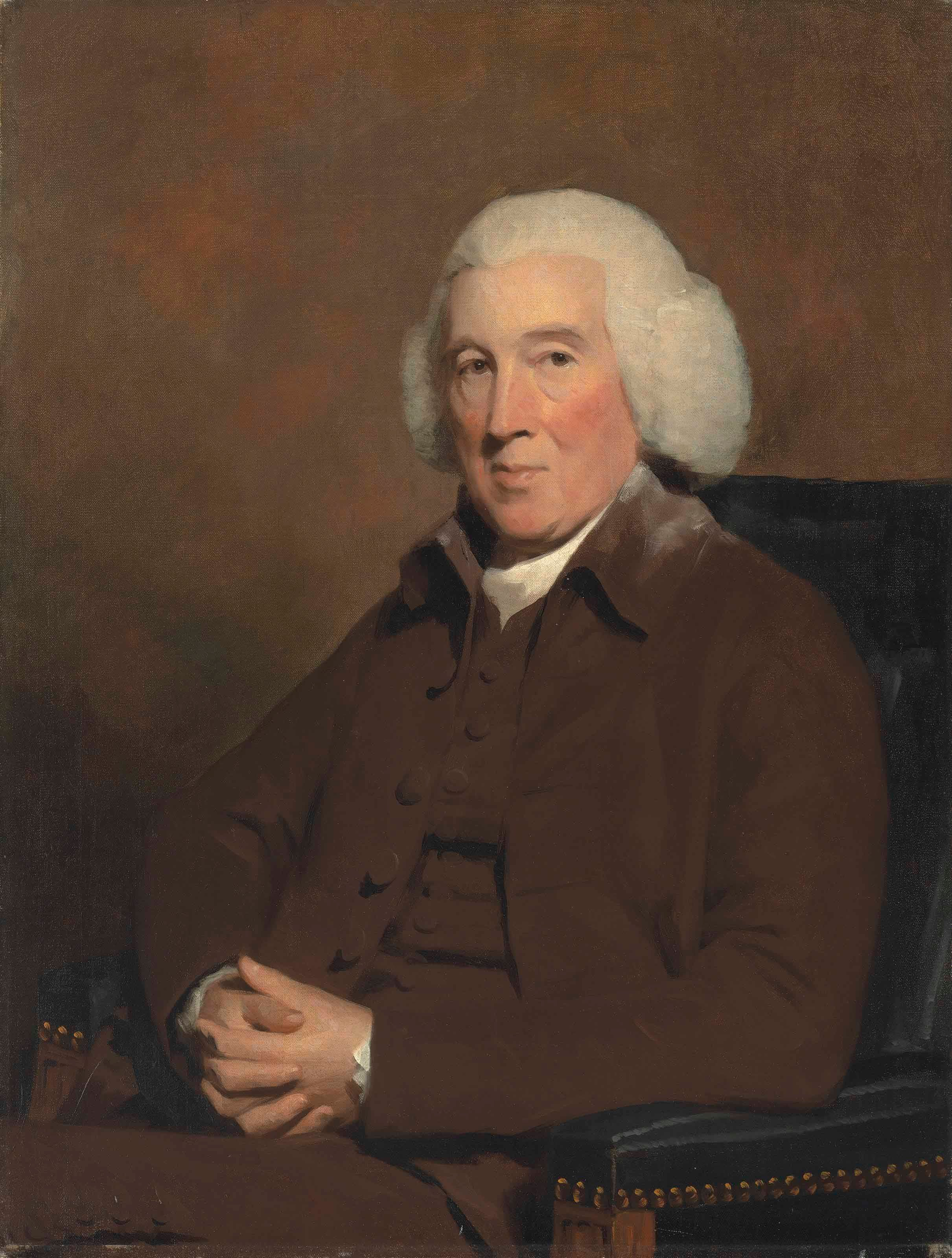 18th Century Oil Painting Portrait of Provost John Pitcairn of Dundee