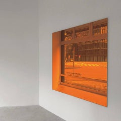 Mirror series / Orange Diamond