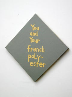 You and your french polyester