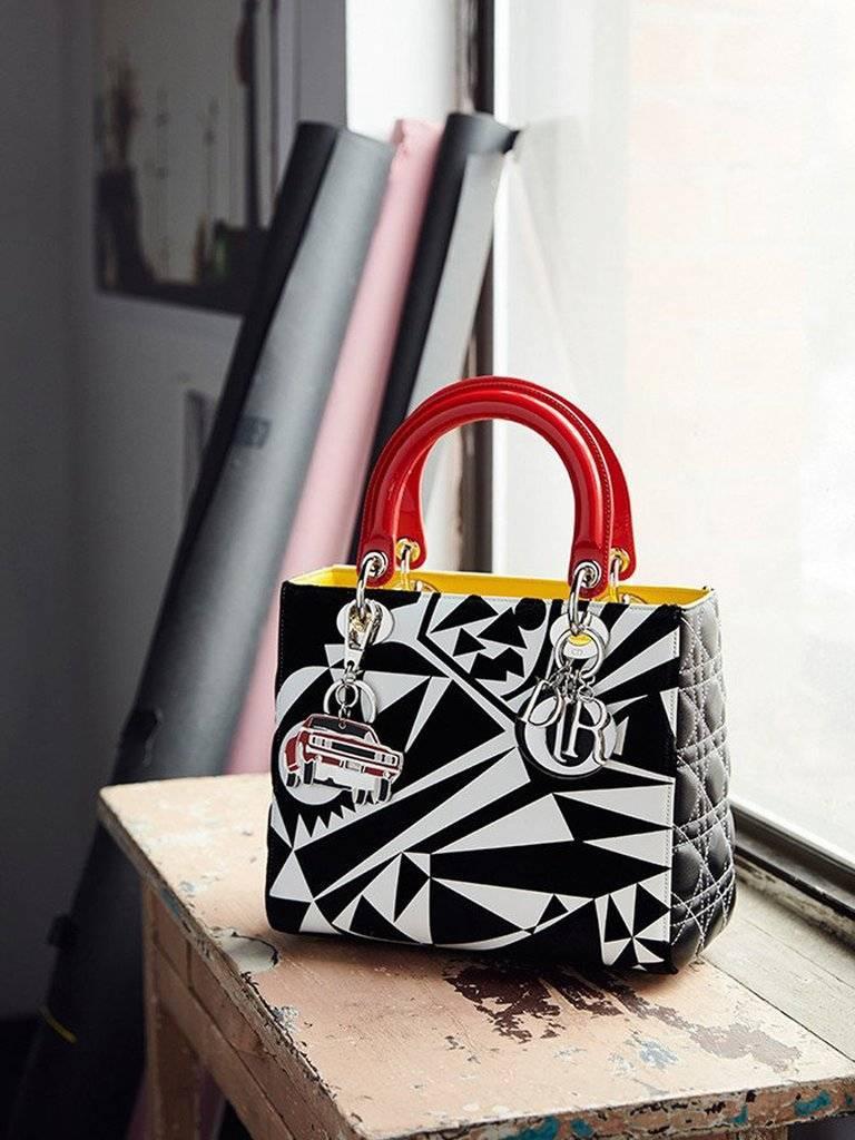 Limited Edition Lady Dior Bag - Matthew Porter