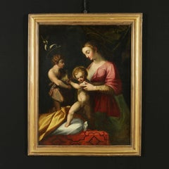 The virgin with child and Saint John