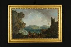 Adrien Manglard (1695-1760), Chivalric Scene