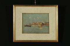 View on the baths in Naples by Carlo Brancaccio