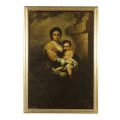 Virgin Mary with Child, Copy of Bartolomé Esteban Murillo