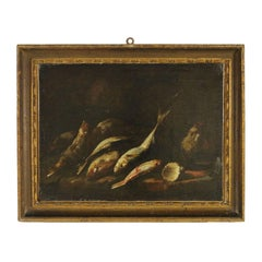 Still life with fishes and shell