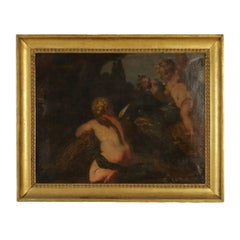 Allegory with Cherubs Oil on Canvas 18th Century
