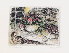 Marc Chagall, La Table Fleurie, Paris, 1973