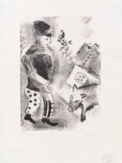 Marc Chagall, L'Homme Au Cochon, Berlin, 1922-1923