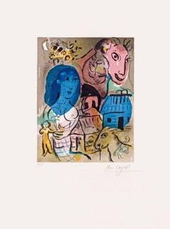 Hommage à Marc Chagall, Paris, 1969