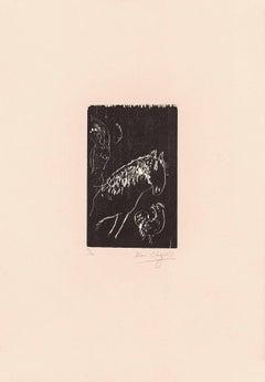 Marc Chagall, L'Écuyère Et Le Coq New York, 1943