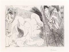 Pablo Picasso, Raffael and Fornarina IV