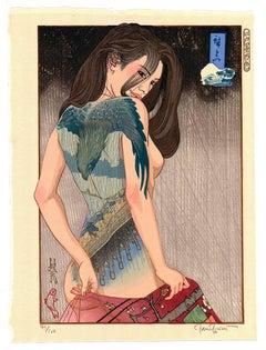 Hiroshige no Edo, Ukiyo-e, Woodblock Print, Tattoo