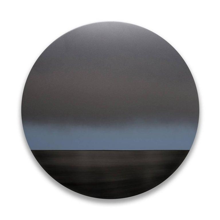 Grey Blue Mandala