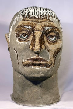 Evocator - 21st Century, Figurative, Sculpture, Male, Portrait