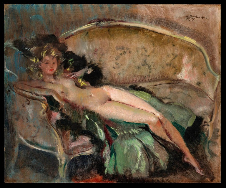 Nu au Sofa (Nude on the Couch)