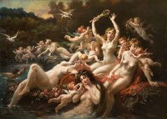 Sirènes Lutinées par les Amours (Sirens and Cherubins)