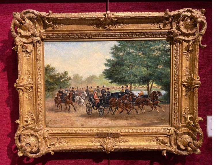 Calèches au Bois de Boulogne For Sale 2