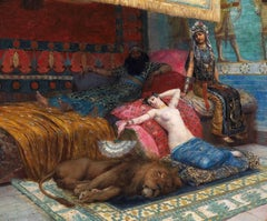 The Slave and the Lion, 1888