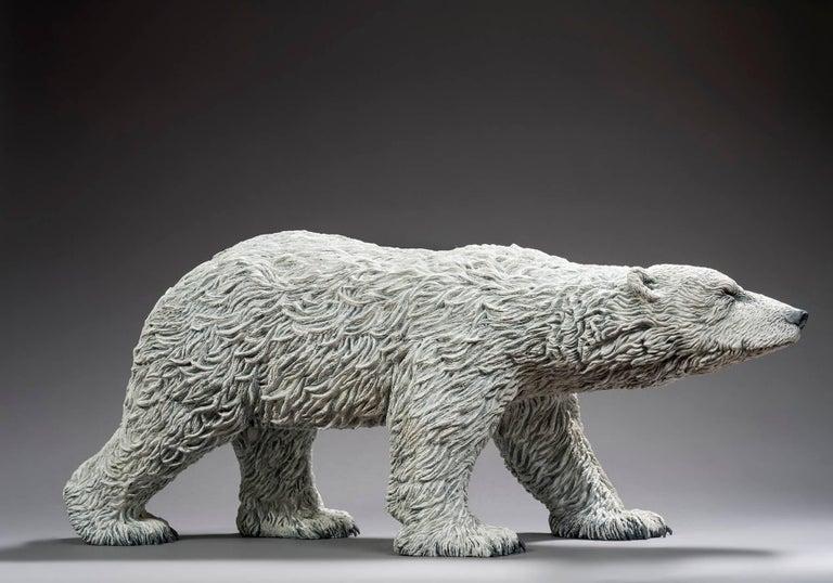 Bernard & Arnaud Bessoud  Figurative Sculpture - Polar Bear